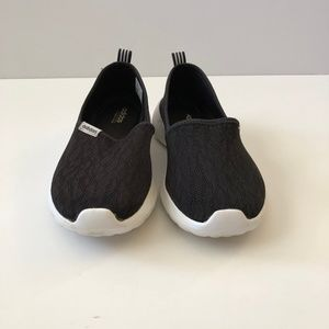 Adidas Cloudfoam Black Slip On Size 10